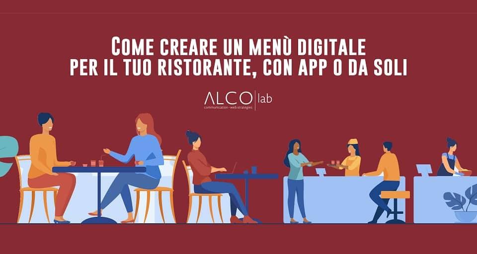 come creare un menu digitale
