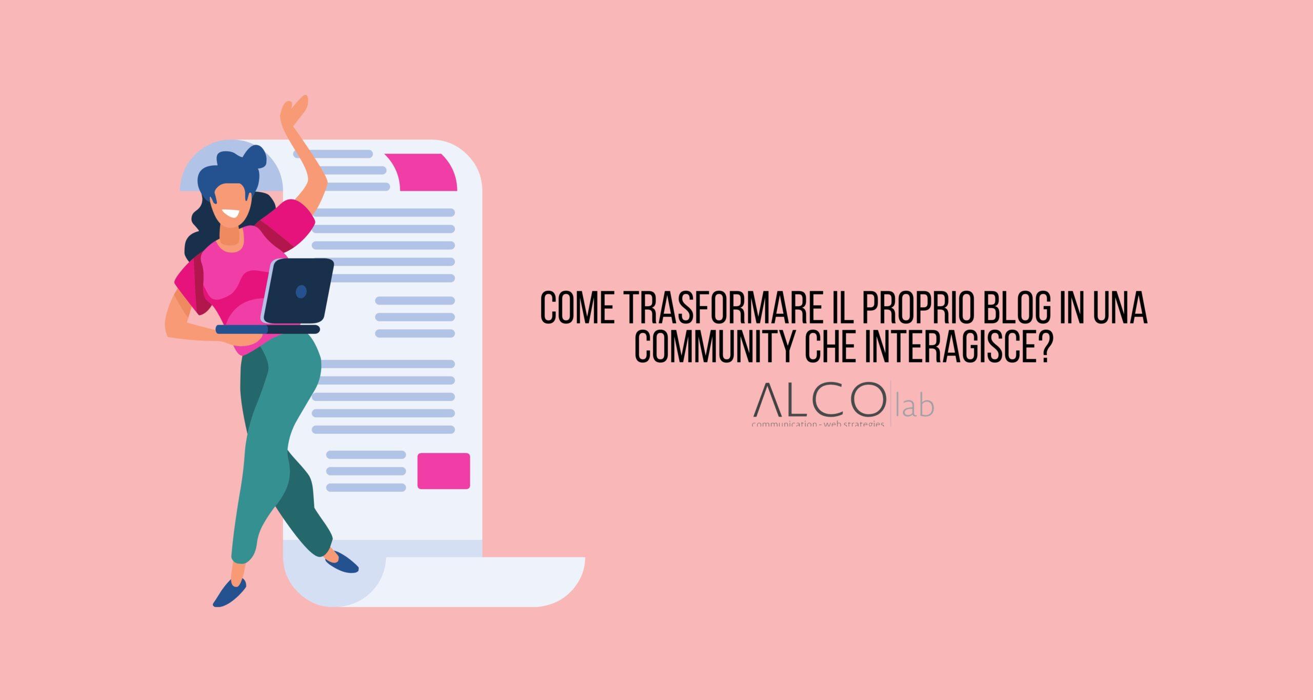 Trasformare blog in community