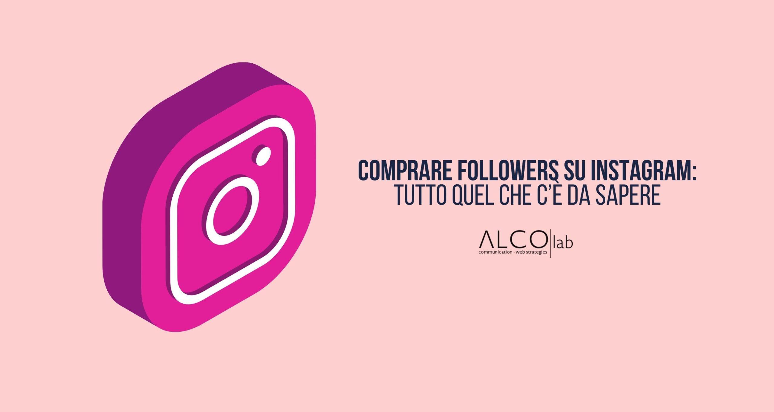 Comprare followers su Instagram