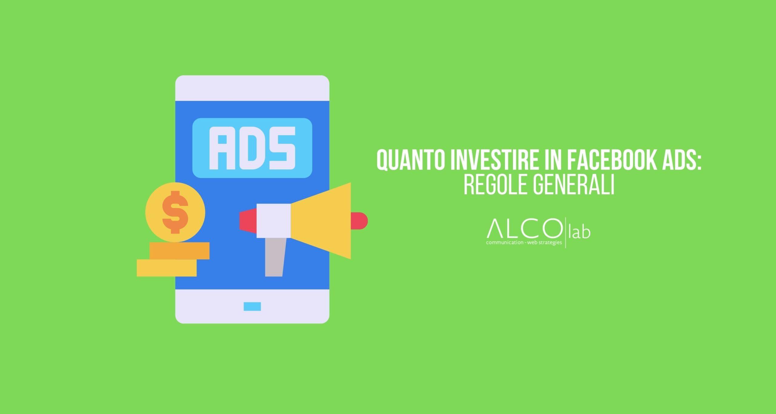 Quanto investire su Facebook ADS
